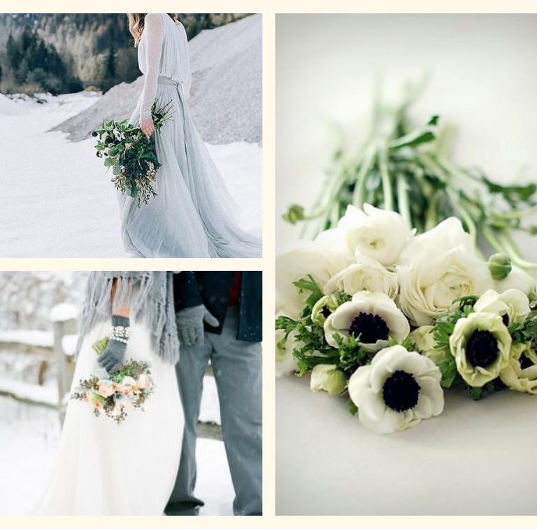 WINTER WEDDING | BOUQUET