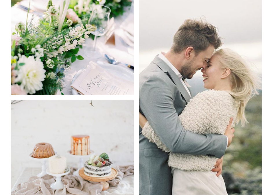 NORD AND MAE | NORDIC AND GREEN WEDDING