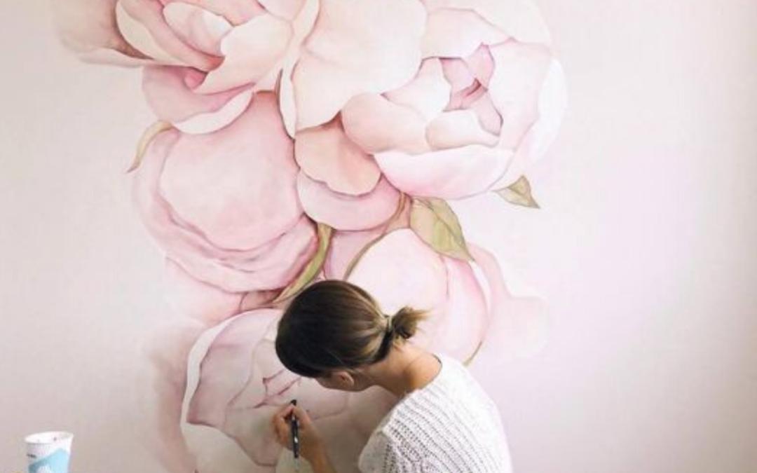 laurorafloreale.it-flowers mural