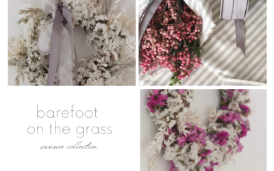BAREFOOT ON THE GRASS | MY SUMMER COLLECTION